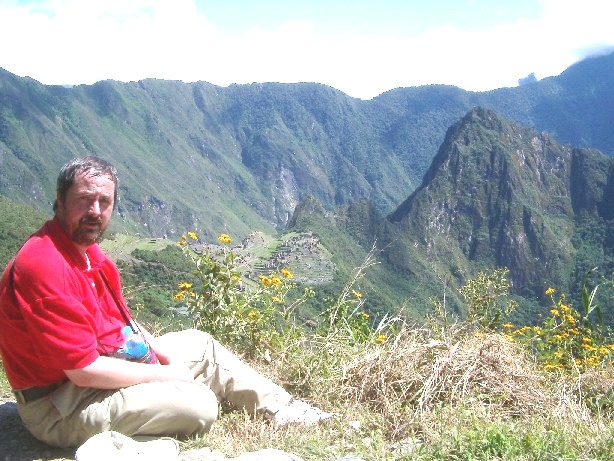 Howard at Machu Pichu